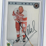 Sid Abel (Autographed Card)